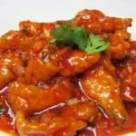 Sweet and Sour Manchurian Fish